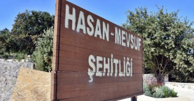 Hasan Mevsuf Şehitliği'nde sona gelindi