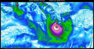 Tropical Medicane Kasırgası Geliyor!