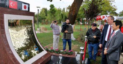 Biga'ya Türk-Japon dostluğu anıtı dikildi