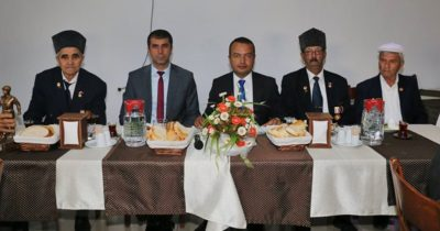 Başkan Arslan Gazilerle