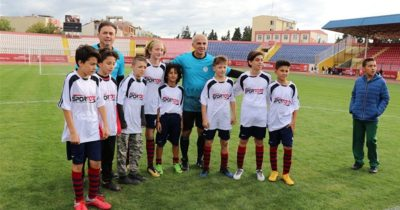 Futbolun Efsaneleri Gençlerle Buluştu