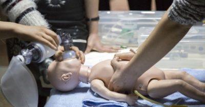 Yeni doğan canlandırma eğitimi tamamlandı