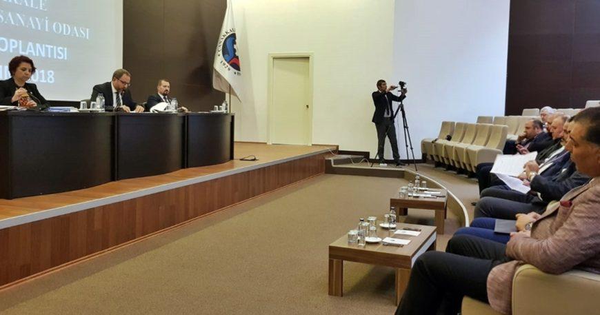 ÇTSO Meclisi deklarasyon hazırlığında