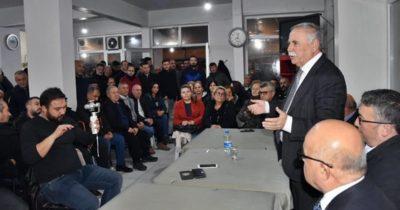 Gökhan, Türkmenin Kahve'de partililere seslendi