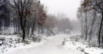Yılın ilk karı Lapseki'ye düştü