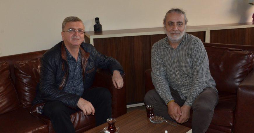 Karataş'tan gazetemize ziyaret