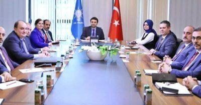 AK Parti'nin başkanları toplandı