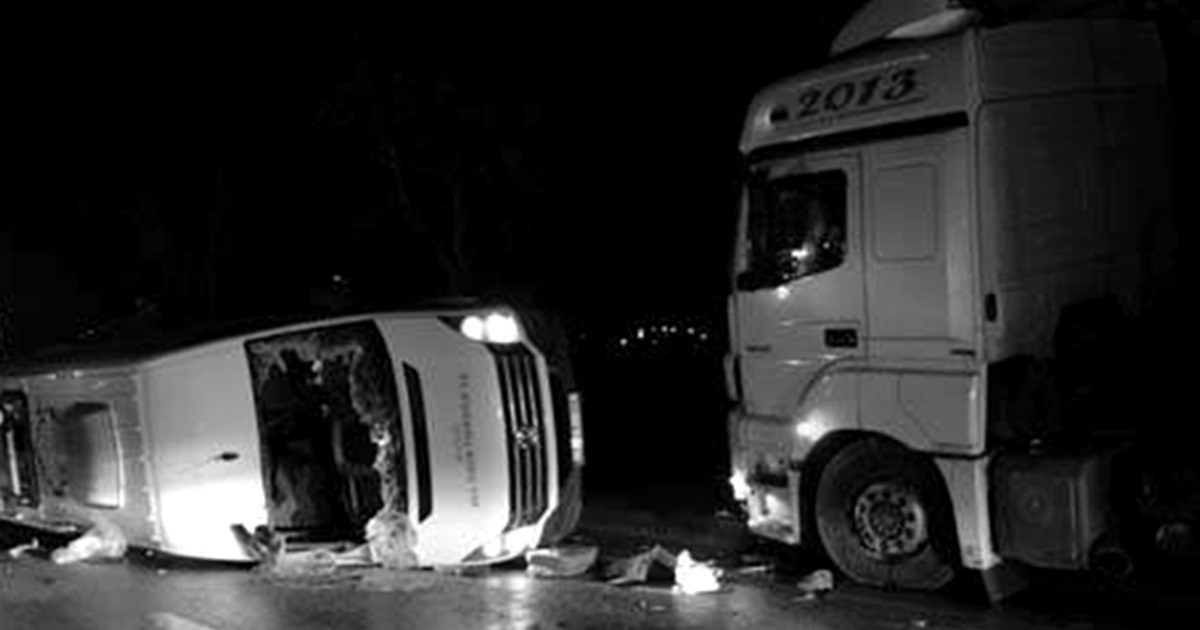 Biga'da korkunç kaza!