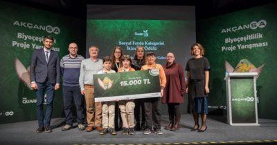 Biyoçeşitlilik yarışmasına Çanakkale damga vurdu