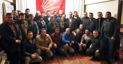 CHP İlçe örgütüne itiraz ettiler