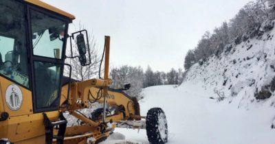 Karla mücadeleye devam ediliyor