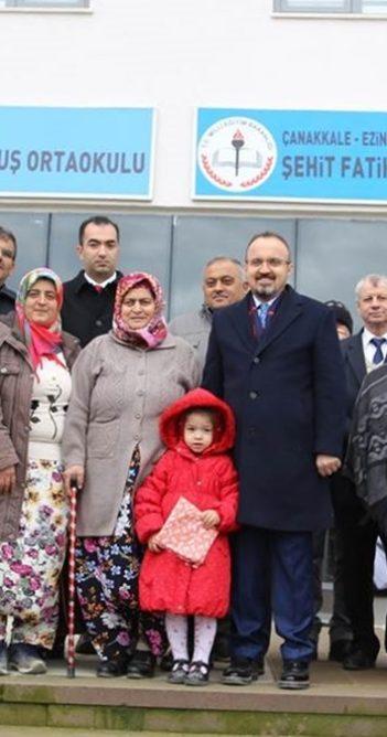Şehit Fatih Duru'nun adı ilkokulda yaşatılacak