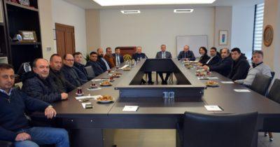 ÇTSO Komite Başkanları aylık toplantısı yapıldı