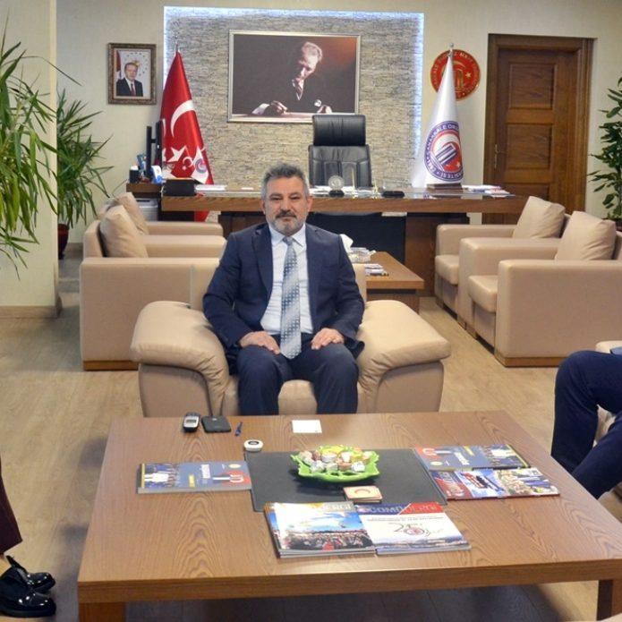 ÇTSO'dan Rektör Acer'e ziyaret