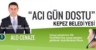 """Kepez'de """"Acı gün dostu belediyecilik """""""