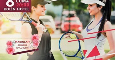 Kadınlara özel 'Tenis Gecesi'