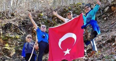 Ç-17 üyeleri Üç Çat Su Çıktı Mevkisinde