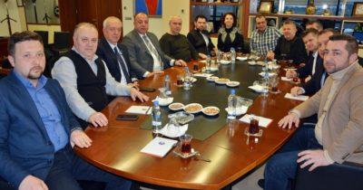 MÜSİAD Yeni Yönetiminden ÇTSO'ya Ziyaret