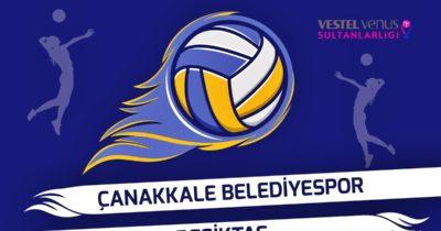 Çanakkale Belediyespor, Beşiktaş'ı Ağırlıyor…