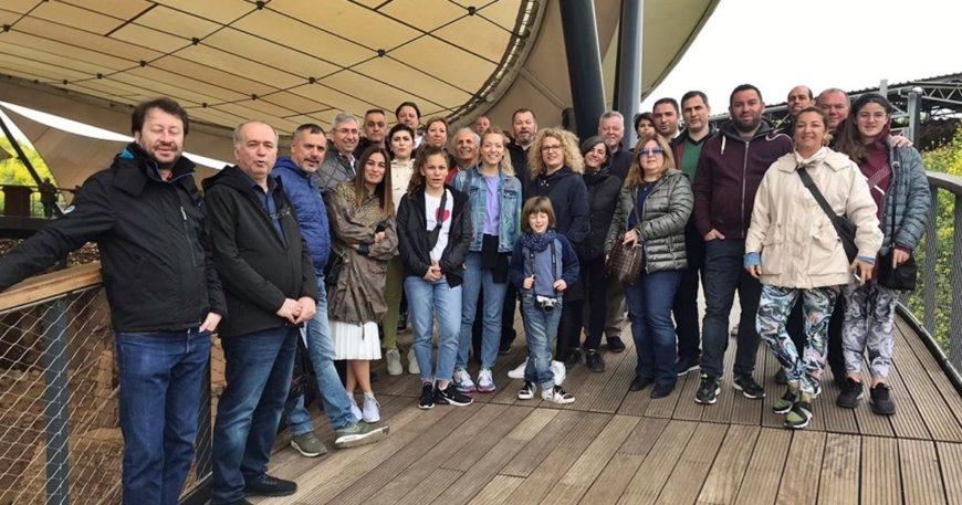 ÇASİAD ailesi Gaziantep ve Şanlıurfa'yı gezdi