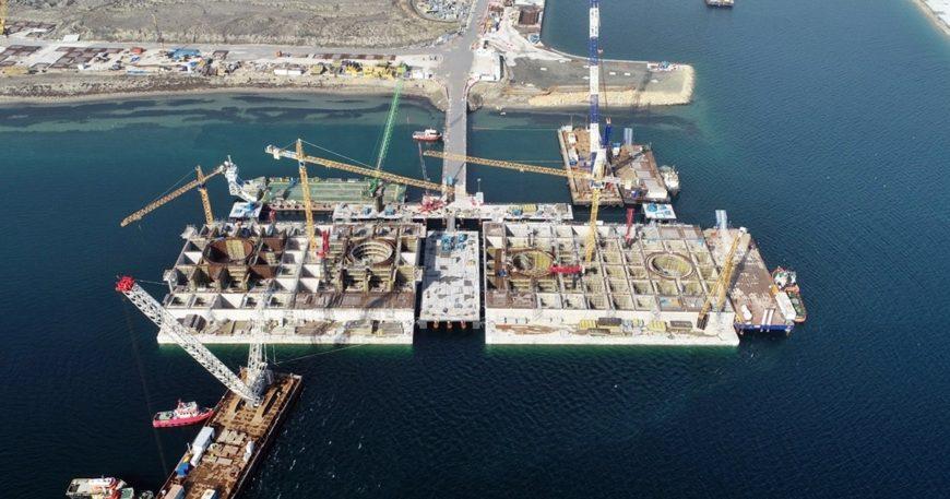 Köprü inşaatındaki gelişmeler konuşuldu