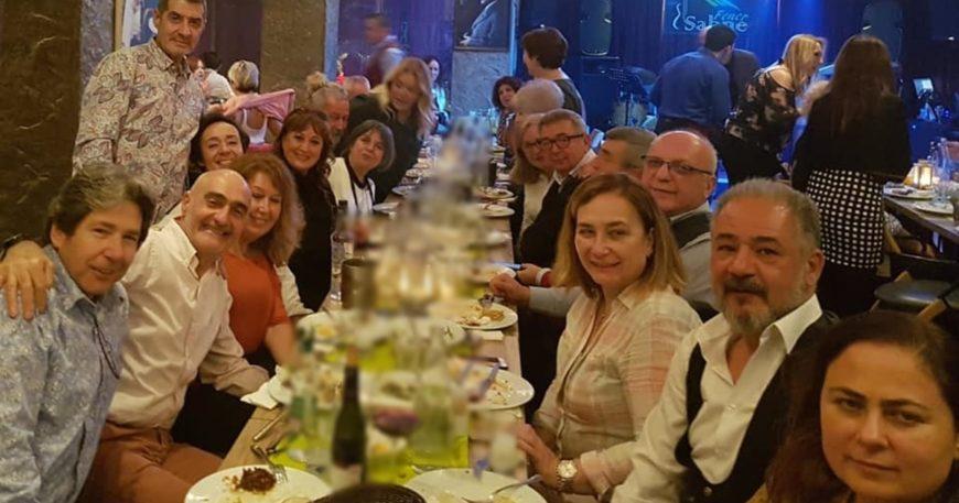 Okul arkadaşları İstanbul'da buluştu
