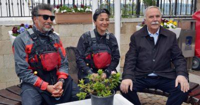 Kanoyla 'Barış' yolculuğu tamamlandı