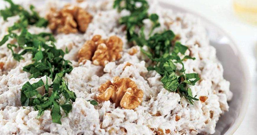 Yoğurtlu Cevizli Kereviz Salatası Tarifi