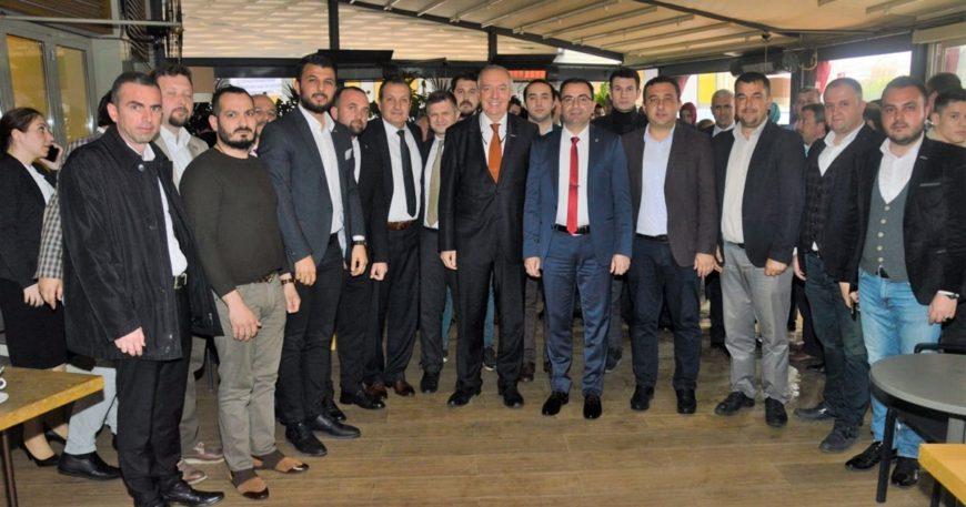 İş adamlarından yeni başkanlara ziyaret