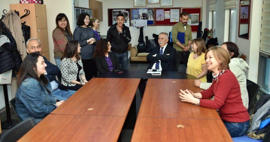 Başkan Gökhan'dan Akçansa'ya ziyaret