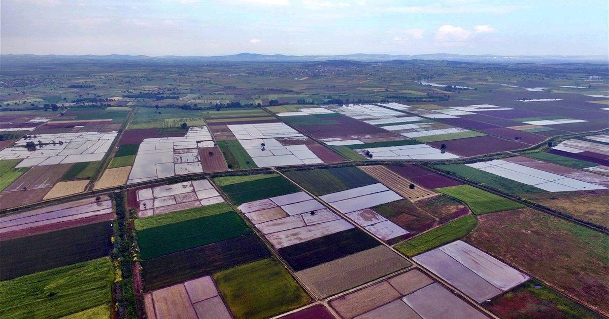 6 bin 350 hektar arazi 'toplulaştırıldı'