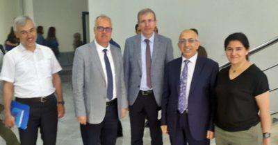 Rektör Murat Eğitim Fakültesini ziyaret etti