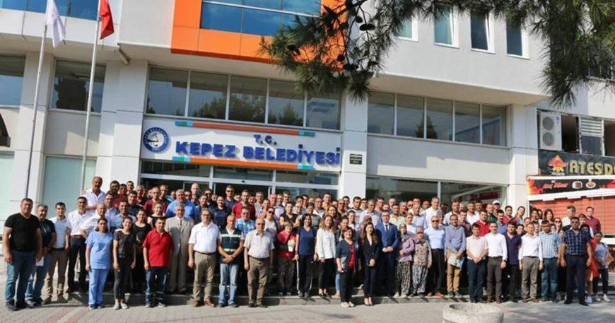 Kepez Belediyesi bayramlaştı
