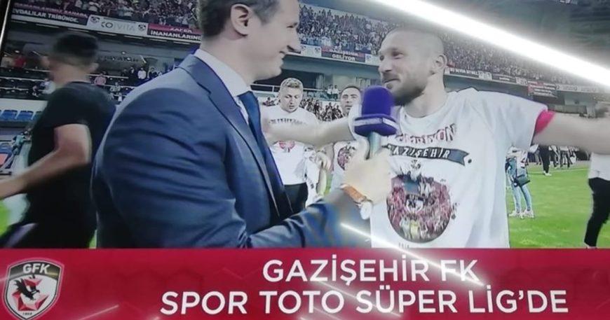 Takım Süper Lig'e çıktı