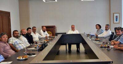 ÇTSO'nun başkanları toplandı