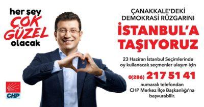 Demokrasi rüzgarını İstanbul'a taşıyacaklar