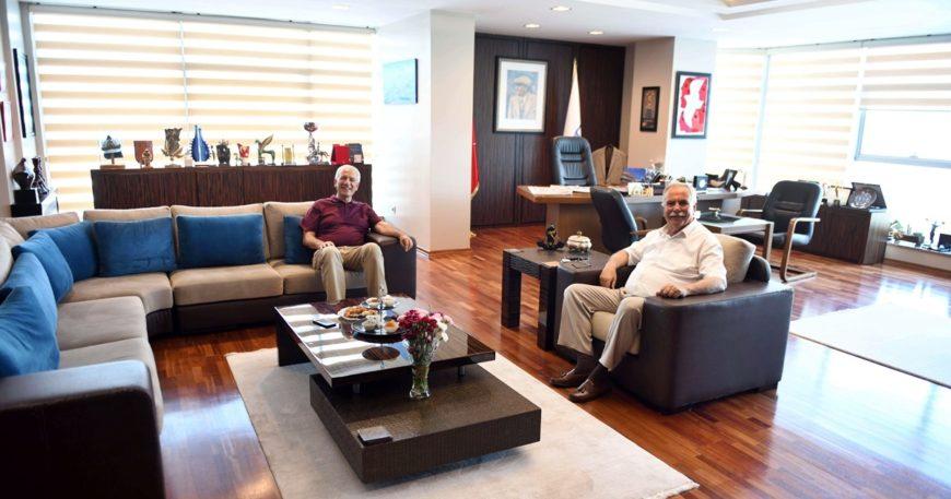 Ahmet Küçük'ten Başkan Gökhan'a Ziyaret…