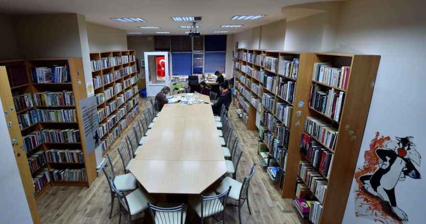 Kütüphanede yenilik