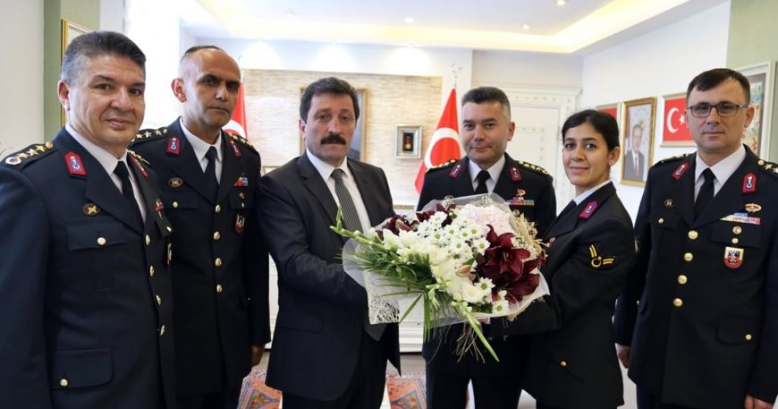 Jandarma teşkilatından ziyaret