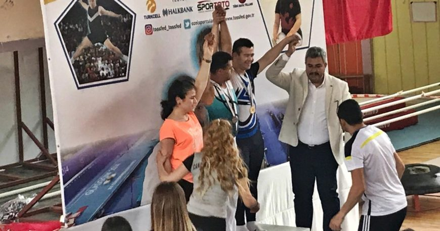 Serkan Beceren Türkiye Şampiyonu