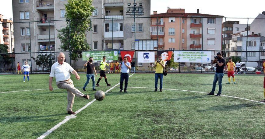 Müdürlükler Arası Futbol Turnuvası başladı