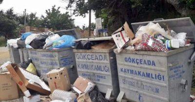 Anlaşmazlık çöpleri biriktirdi iddiası