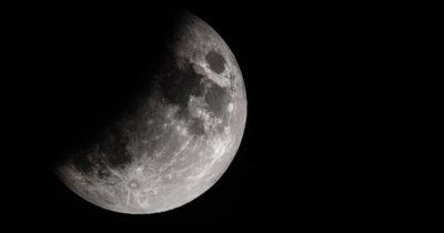 Ay tutulmasını böyle görüntüledi