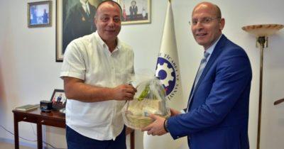 Başkonsolos Soultanapoulo'dan ÇTSO'ya ziyaret