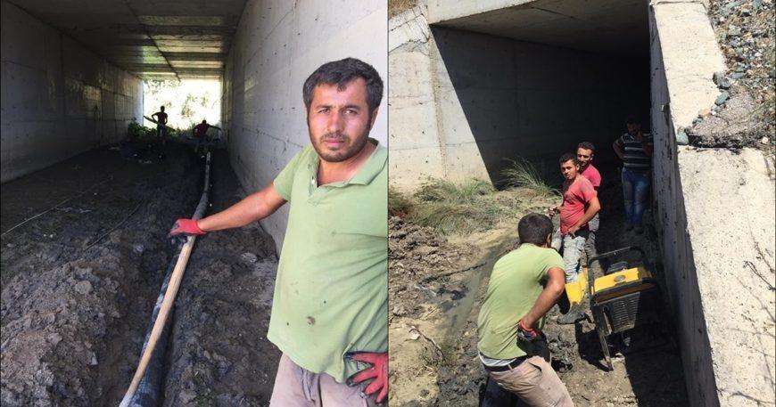 Erenköy asbest borulardan arındırılıyor