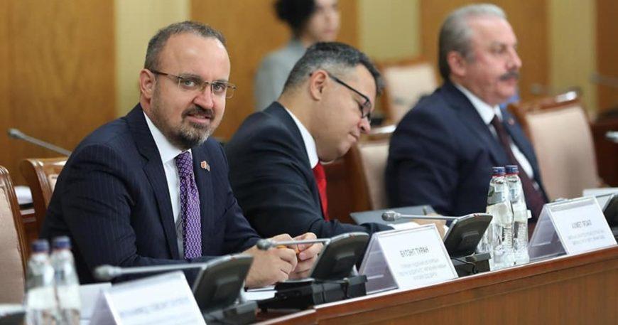 Bülent Turan Moğolistan'daydı