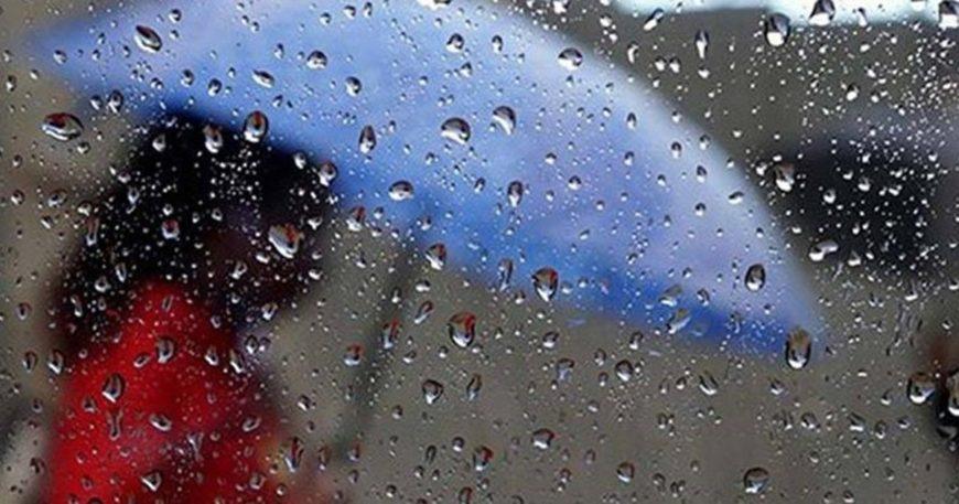 Yağmur kapıda!