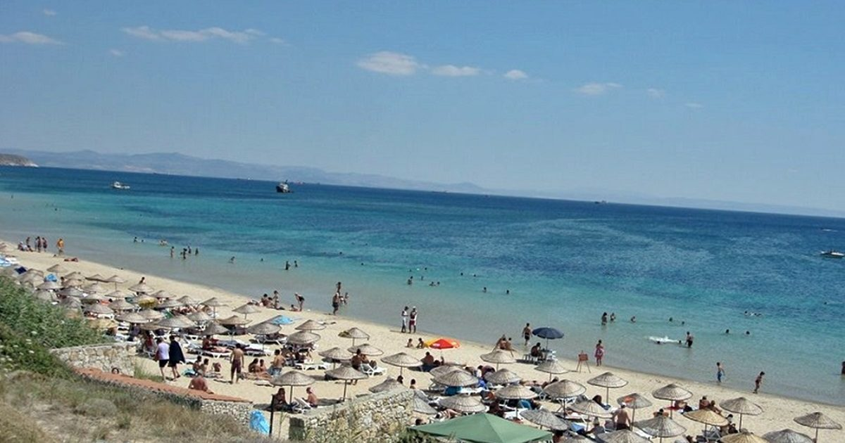 Çanakkale'de kötü plaj yok