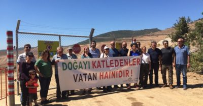 Su Nöbetine CHP'lilerden destek!
