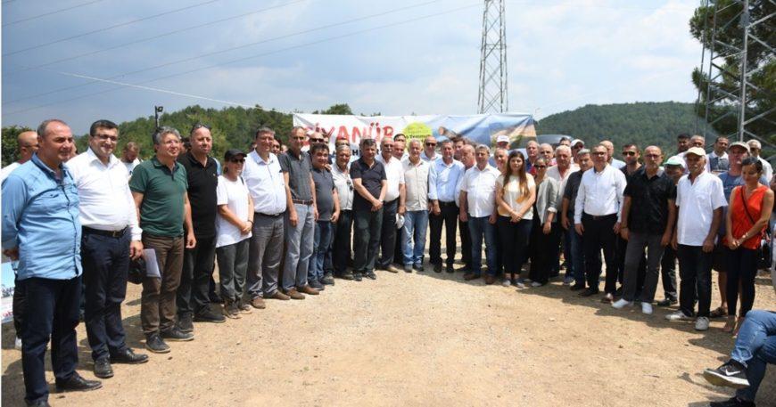"""Belediye Başkanlarından """"Su Nöbetine"""" destek"""